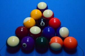 Aufbau beim 8-Ball