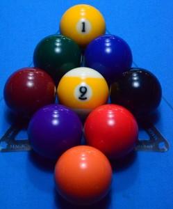 Aufbau im 9-Ball